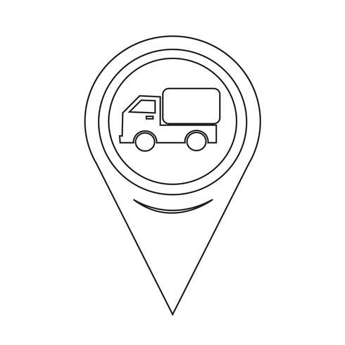 Kartpekare Bilbil Ikon
