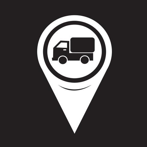 Carte Pointer Car Truck Icon