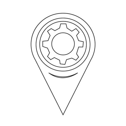 Icona di puntatore della mappa