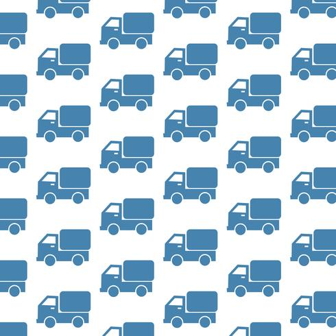 Car Truck pattern background