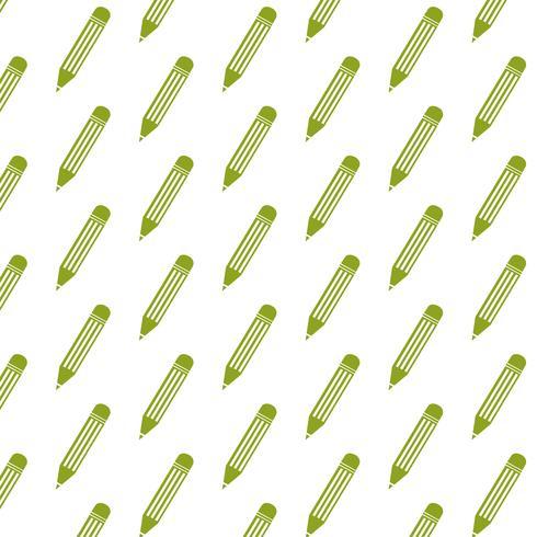 Fondo de patrón de lápiz