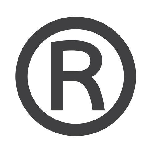 Icono de marca registrada