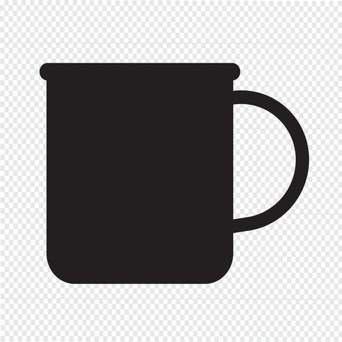 taza de té icono de café