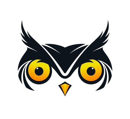 Ícone de rosto de coruja