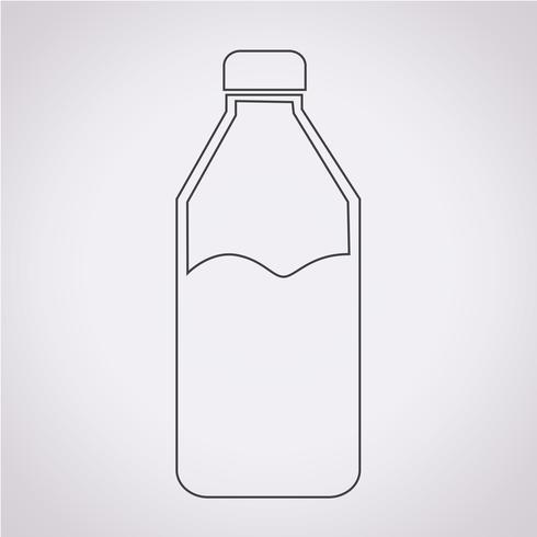 icono de botella de agua