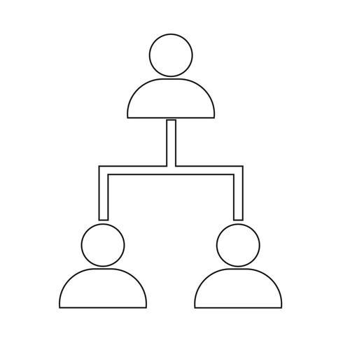 icona della rete di persone