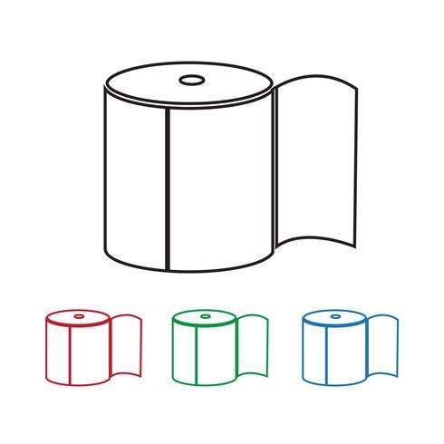 Icône de papier toilette