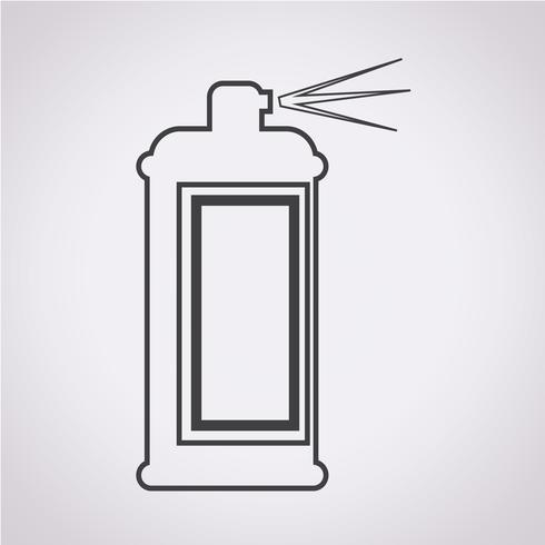 Spray symbole icône