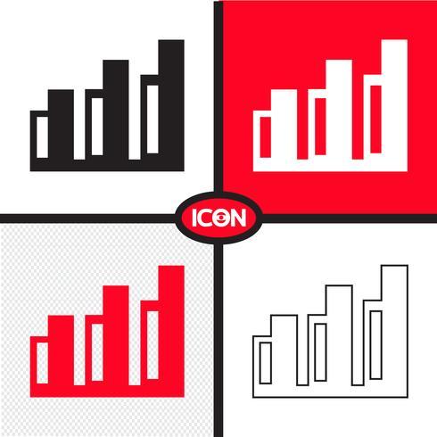 Icono de gráfico de gráfico
