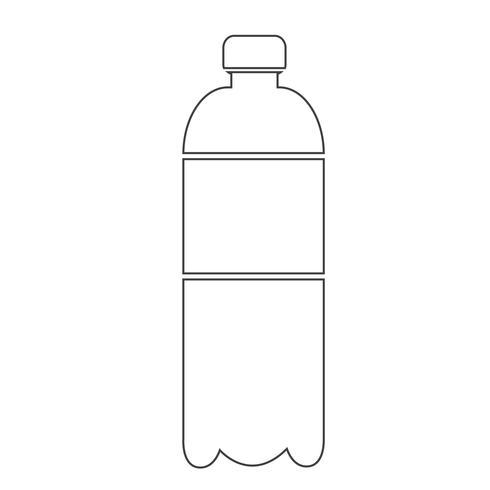 icône de bouteille d'eau
