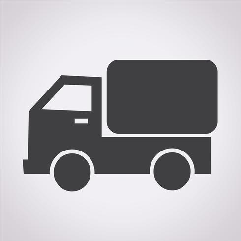 Icono de carro de carro vector