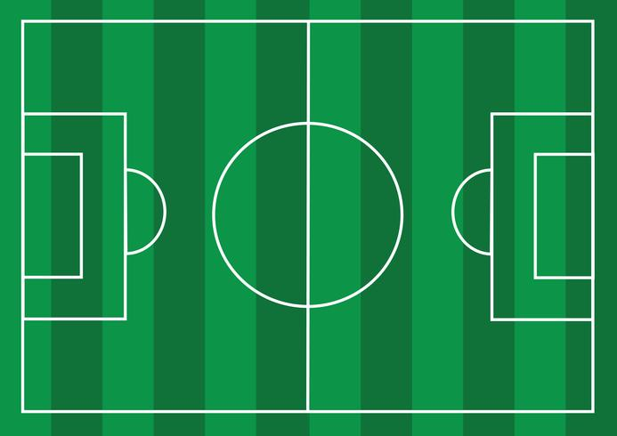 Cancha de futbol o cancha de futbol con textura vector