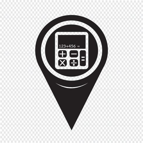 Kaartwijzer Calculatorpictogram