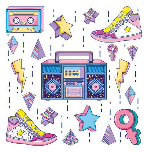 Popkonst 1990-tal teckningar