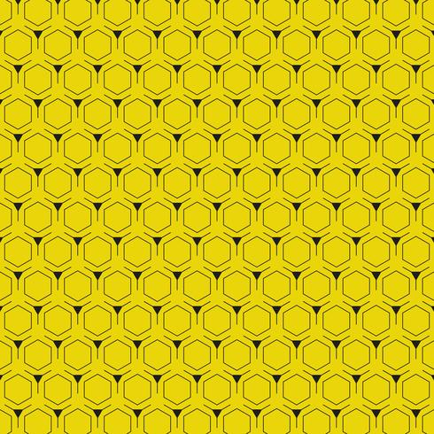 Abstract yellow background with hexagon pattern modern design. illustration vector eps10