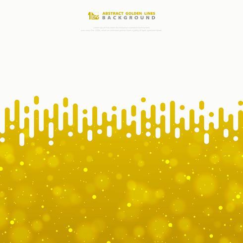 Abstrakt vektor vågiga randlinjer guldtextur med glitter. illustration vektor eps10