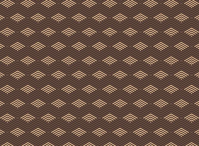 Abstract geometric triangle art deco pattern background.