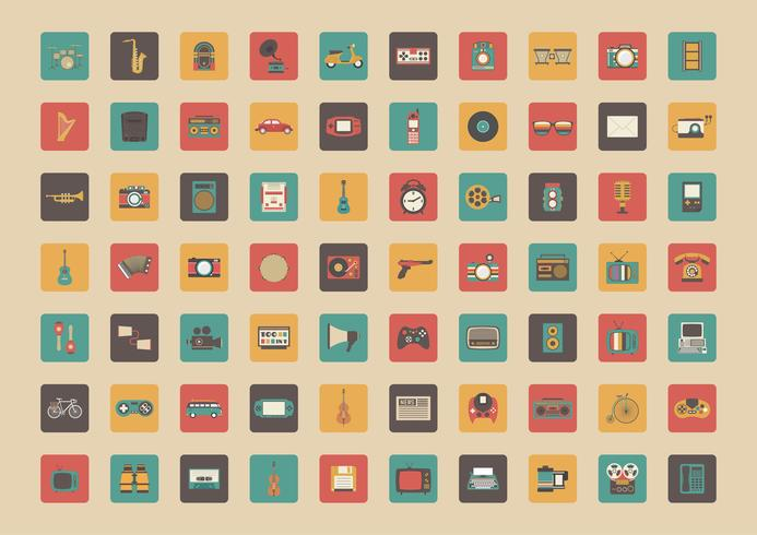 all retro gadget icon
