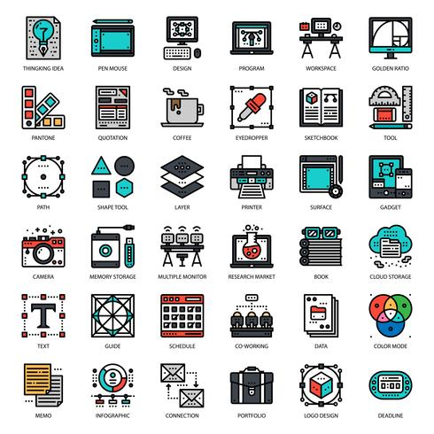 Grafikdesigner-Symbol