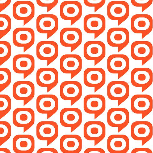 Pattern background target bubble icon vector