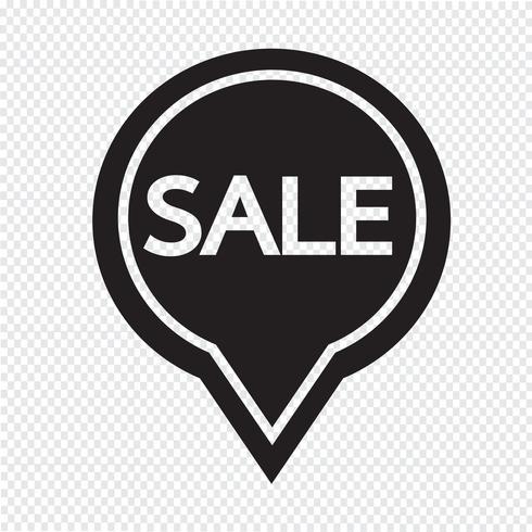 SALE ikon symbol tecken