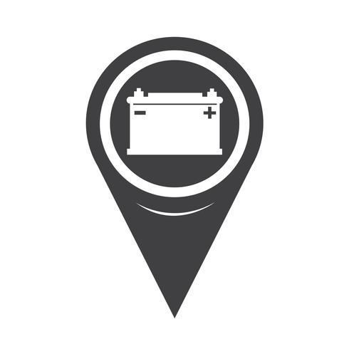 karta pekaren bilbatteri ikon