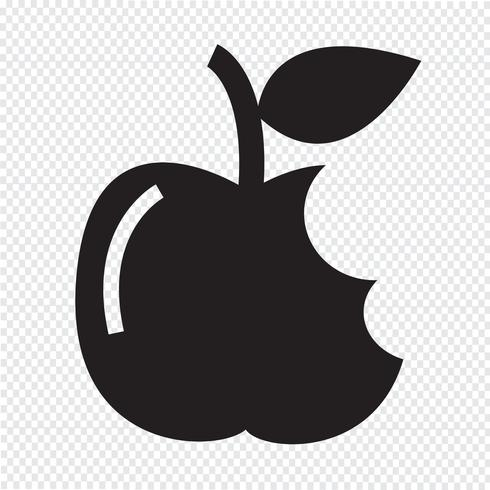 Apple icon  symbol sign vector