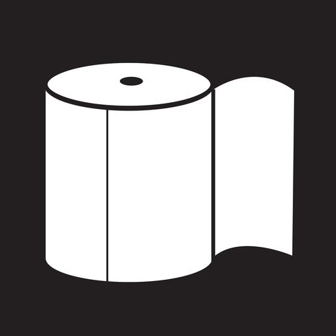 Toilettenpapier-Symbol