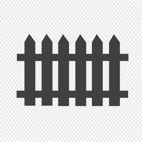 Zaun Symbol Symbol Zeichen