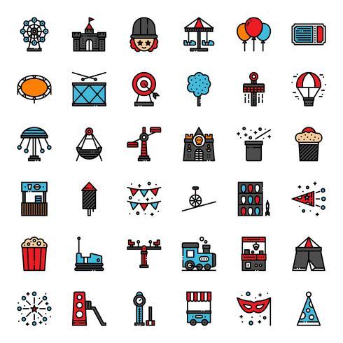 icono de parque de atracciones