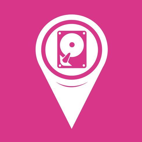 Map Pointer Hard icon