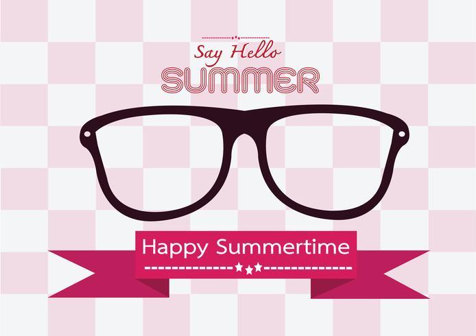 Summer concept idea design card