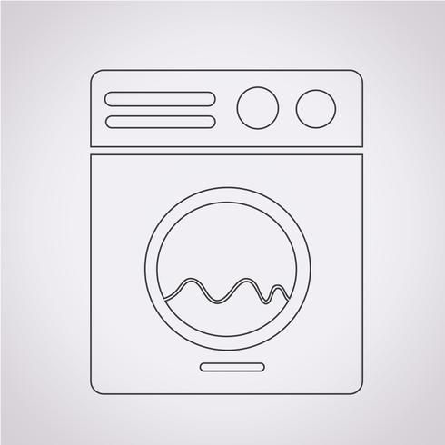 Wasmachine pictogram