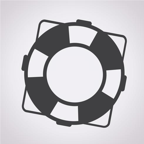 Rettungsring Symbol Symbol Zeichen
