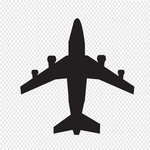 Plane Icon  symbol sign