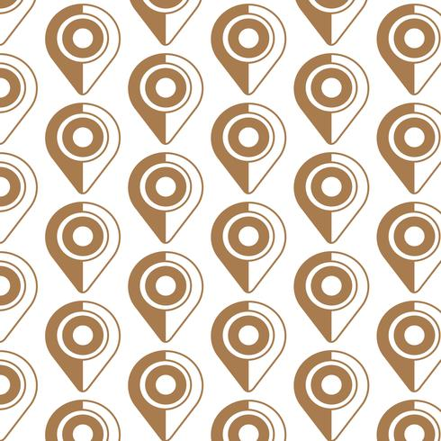 Pattern background Map pointer icon