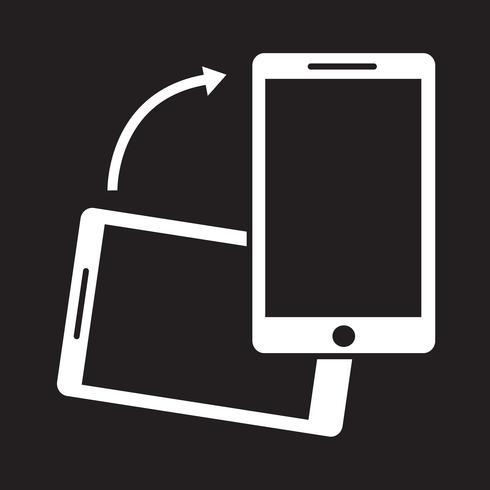 Rotera Smartphone-ikonen