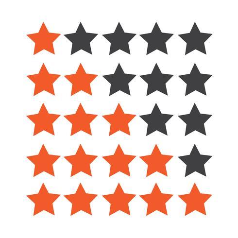 Bewertungssymbol Sterne