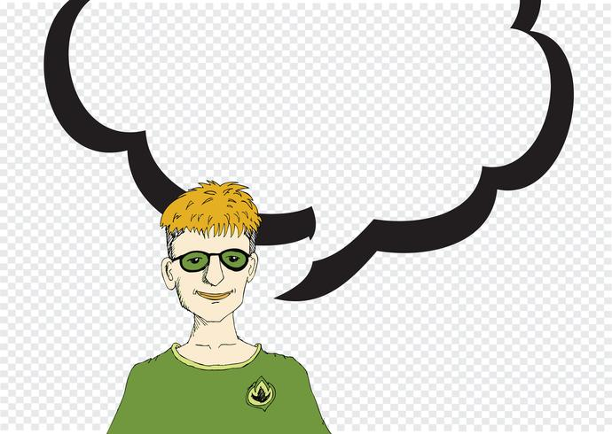 People thinking and peoples talking with Speech Bubble