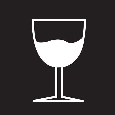 Copo de bebida ícone