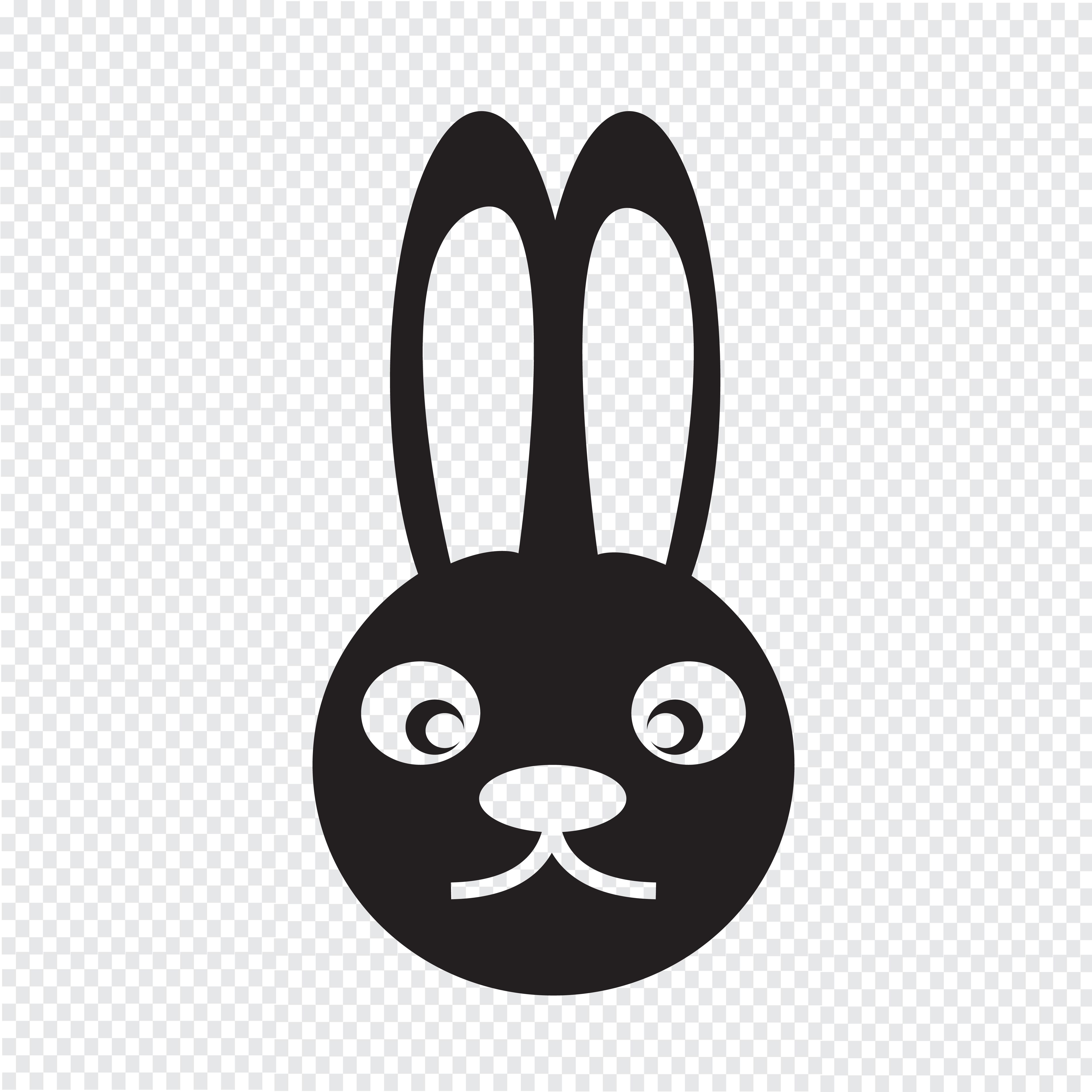 兔子剪影 免費下載   天天瘋後製