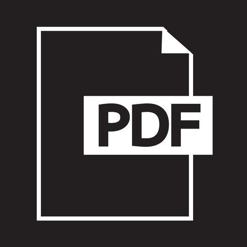 PDF pictogram symbool teken