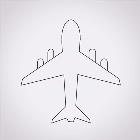airplane icon  symbol sign