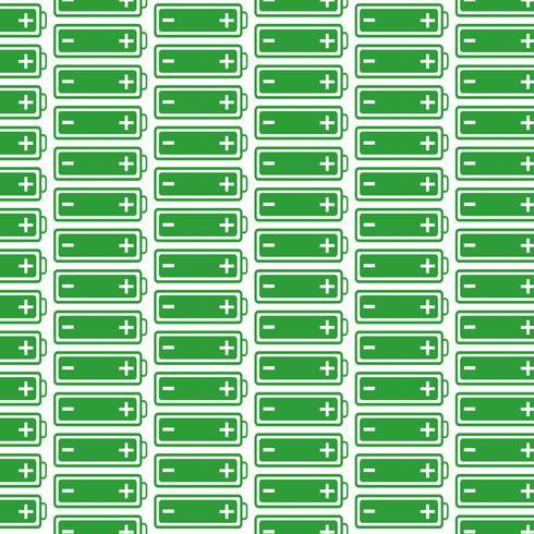 Mönster bakgrund batteri web ikon vektor