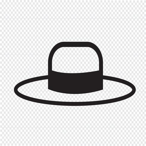 Hat Icon  symbol sign