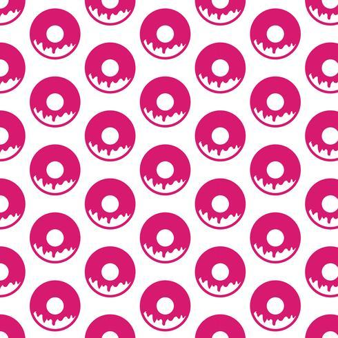 Donut pattern background
