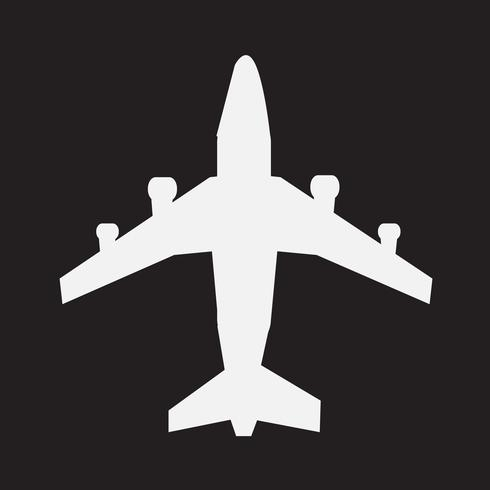 Plane Icon  symbol sign vector