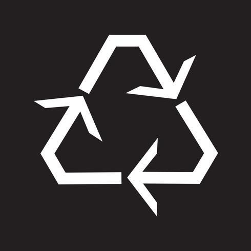 Recycle icon  symbol sign vector