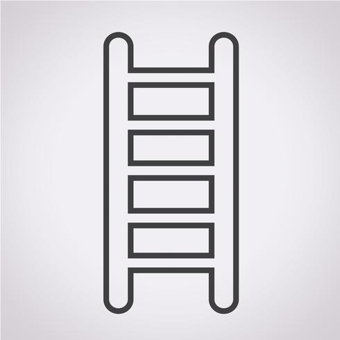 icono de escalera símbolo de signo