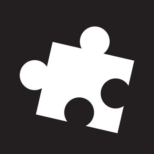 puzzle icon  symbol sign vector